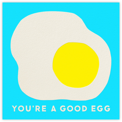 Good Egg - The Indigo Bunting - Love Cards