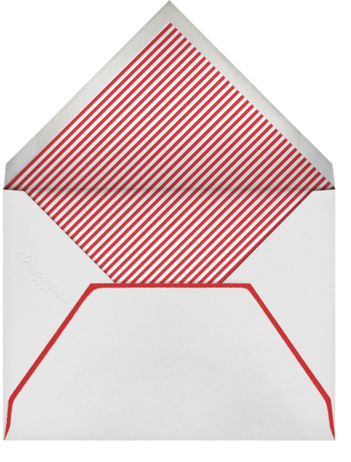 I Couldn't Love You More - Mr. Boddington's Studio - Love cards - envelope back