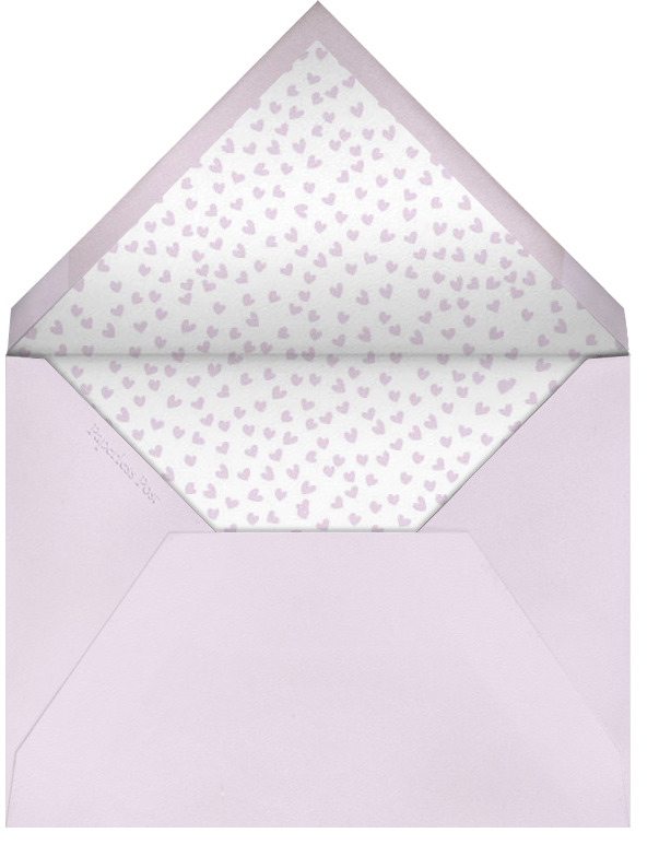 Sending Hearts - Linda and Harriett - Love cards - envelope back