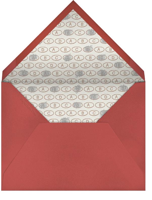 Scattered Pencils - Paperless Post - Love cards - envelope back