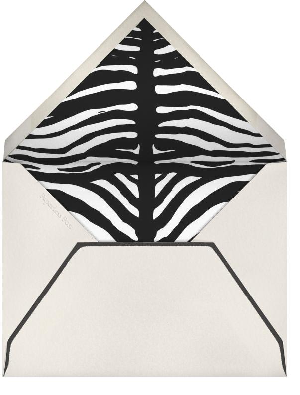 Zebra Love - Paperless Post - Love cards - envelope back