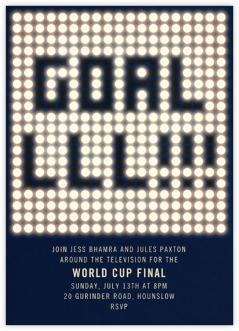 GOALLLL!!! - Paperless Post - Sporting Event Invitations