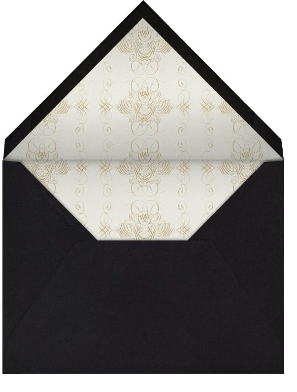 You're Invited - Black - Bernard Maisner - Envelope