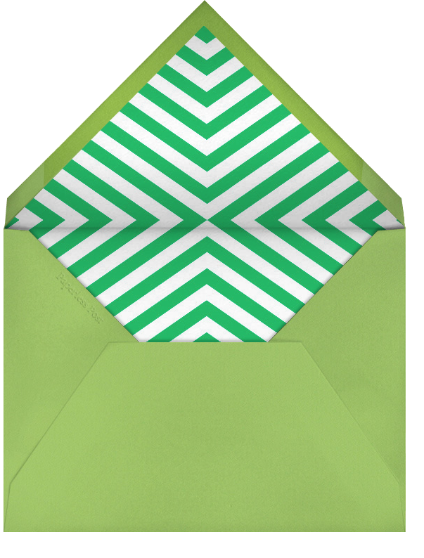 Polo - Green - Jonathan Adler - Father's Day - envelope back