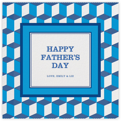 Deco Cubes - Jonathan Adler - Father's Day cards
