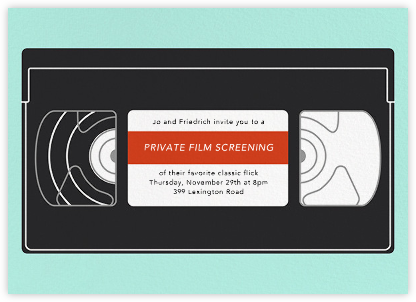 VHS - Paperless Post - Invitations