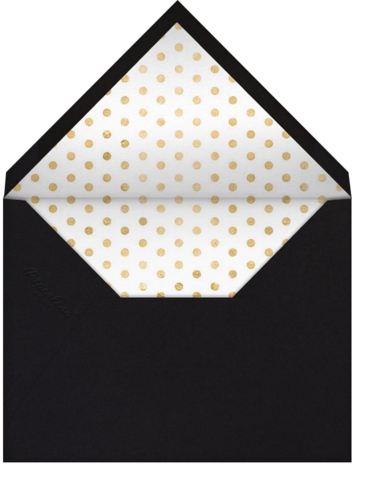 The Highest Bidder - Paperless Post - Charity and fundraiser  - envelope back