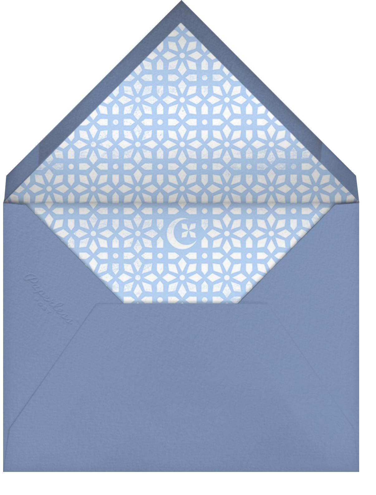 Jali - Spring Rain - Paperless Post - Ramadan - envelope back