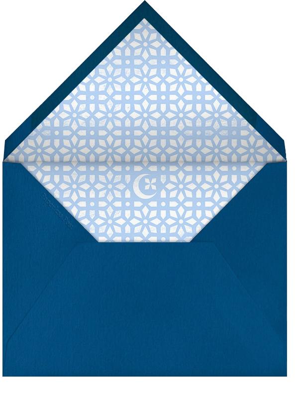 Lattice Crescent Moon - Paperless Post - Ramadan and Eid - envelope back