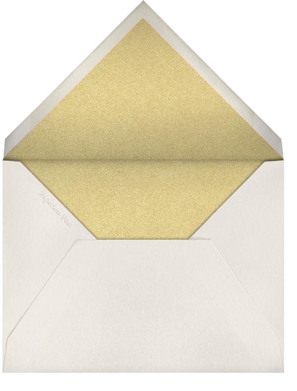 Arch Border - Cream - Bernard Maisner - Cocktail party - envelope back