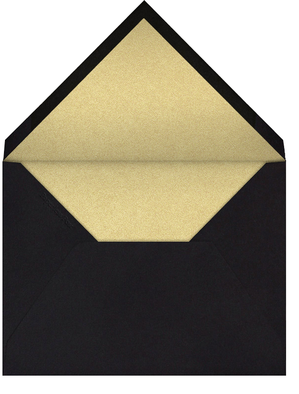 Arch Border - Black - Bernard Maisner - General entertaining - envelope back