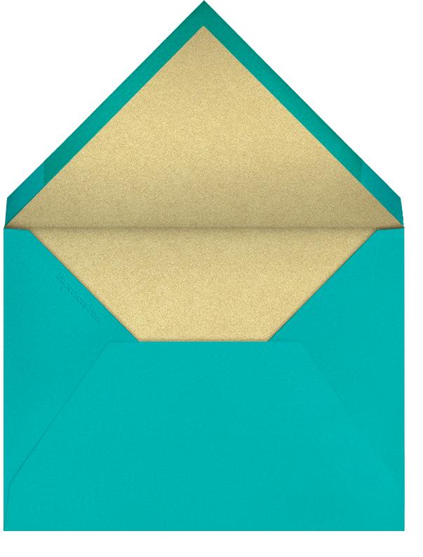 Dotted Border - Ivory - Bernard Maisner - Dinner party - envelope back