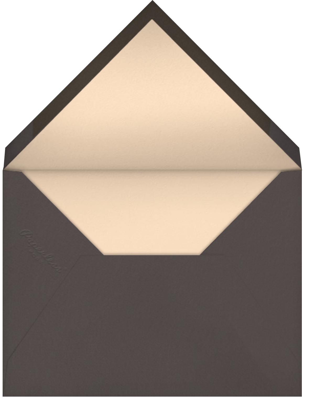 Mr. Bear (Meg Hunt) - Red Cap Cards - Envelope