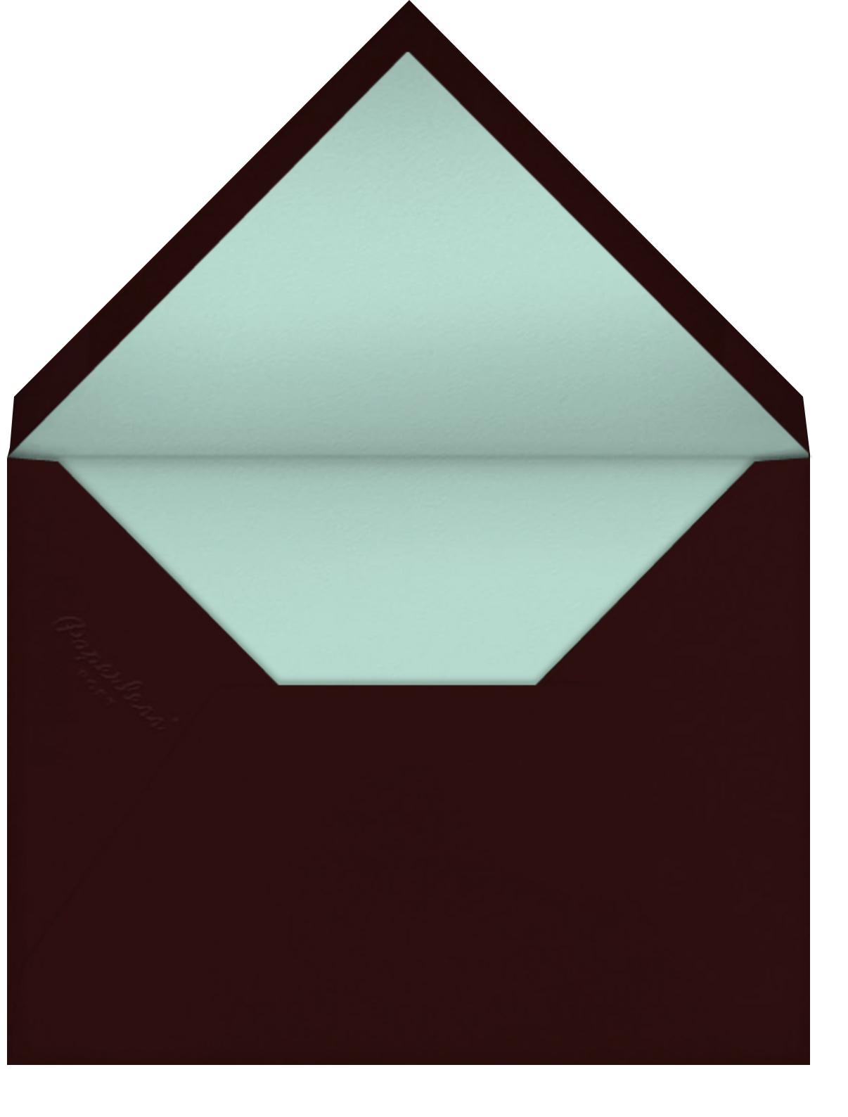 At the Table (Sarah Burwash) - Red Cap Cards - Envelope