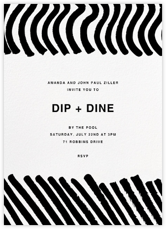 Silkkikuikka - Marimekko - Dinner Party Invitations