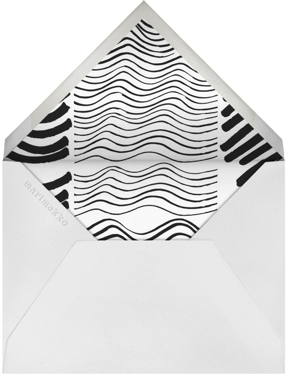 Silkkikuikka - Marimekko - Cocktail party - envelope back