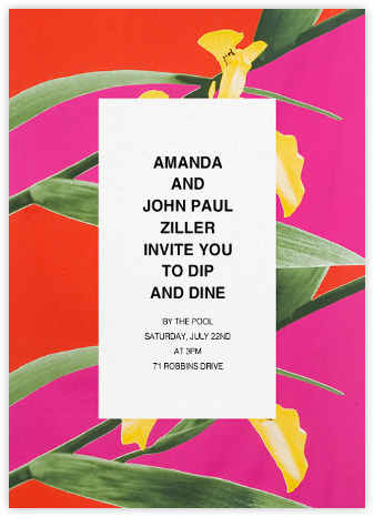 Kurjenmiekka (Tall) - Marimekko - Dinner Party Invitations