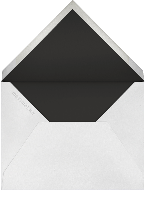 Kurjenmiekka (Tall) - Marimekko - Cocktail party - envelope back