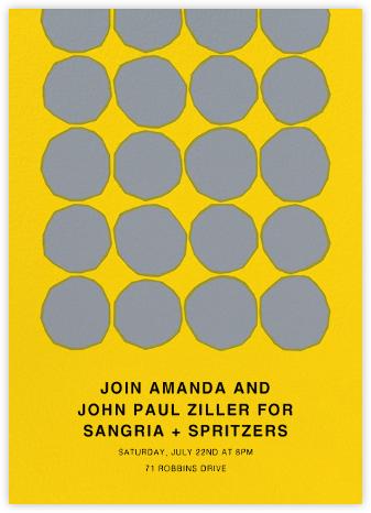 Kivet - Yellow - Marimekko - Marimekko cards and stationery