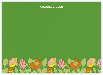 Green Green (Stationery) - Marimekko - Personalized Stationery