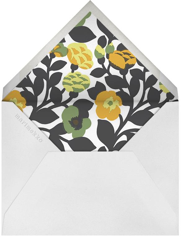Green Green - Grey - Marimekko - Spring entertaining - envelope back