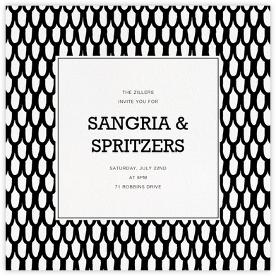 Iso Suomu - Marimekko - Dinner Party Invitations