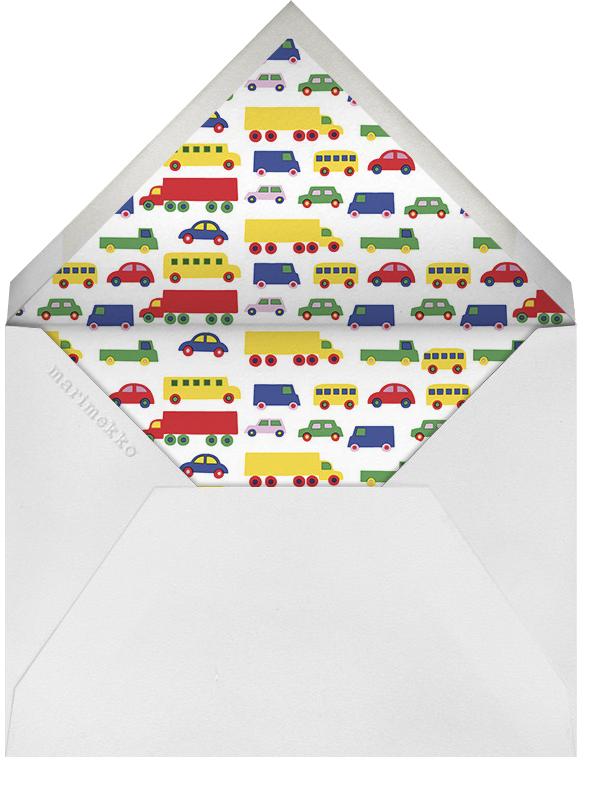 Bo Boo (Stationery) - Marimekko - Kids' stationery - envelope back