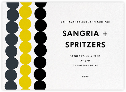 Rasymatto - Gray - Marimekko - Summer Party Invitations