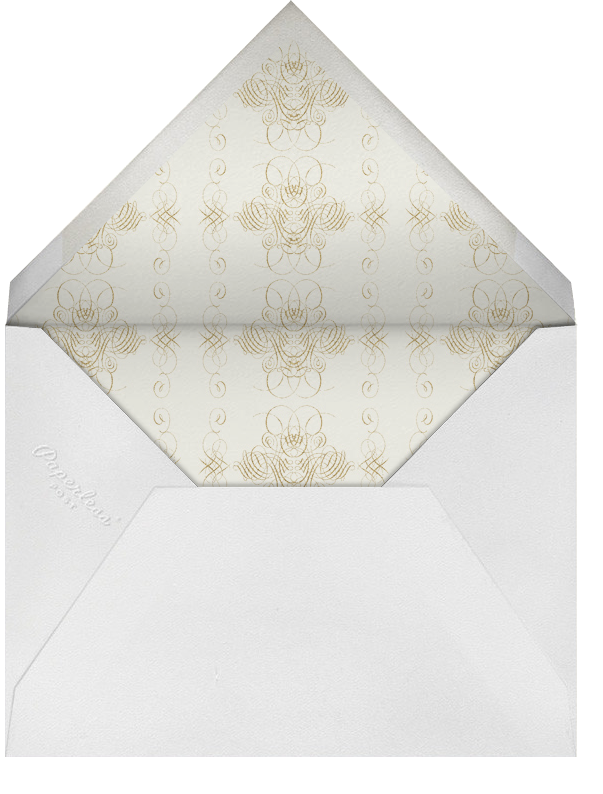 Thinking Of You - Ivory Gold - Bernard Maisner - Sympathy - envelope back