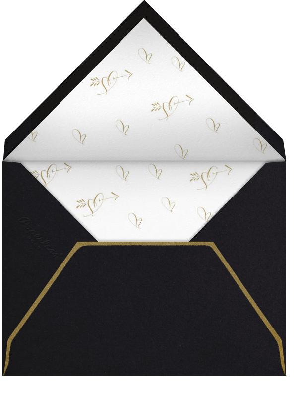Tie The Knot Script - Black - Bernard Maisner - null - envelope back