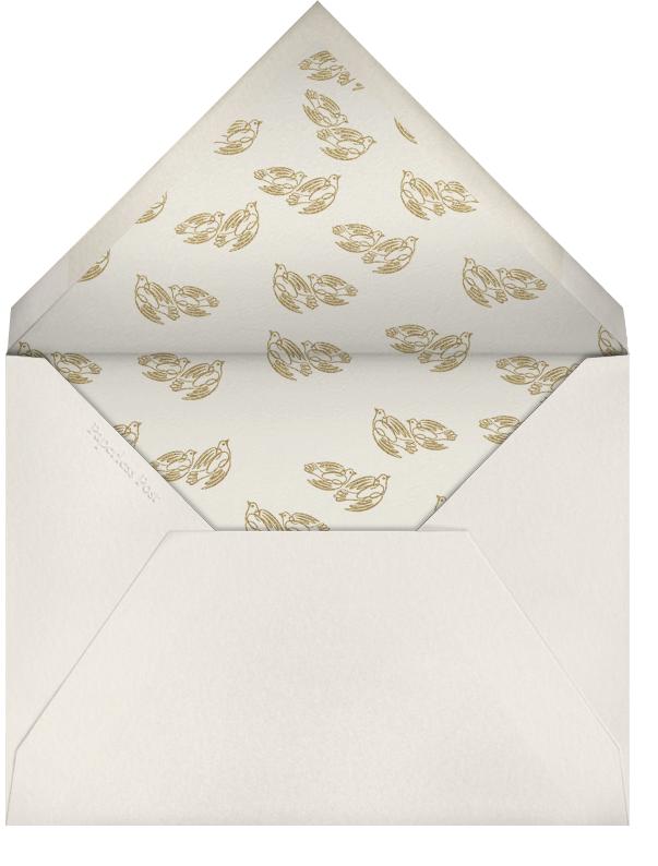 Deepest Sympathies - Ivory - Bernard Maisner - Sympathy - envelope back
