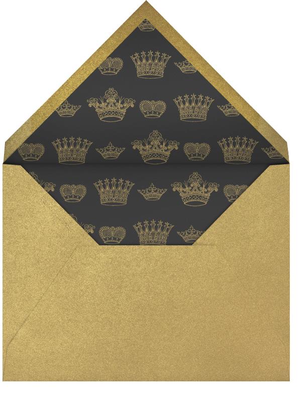 Let's Celebrate Script - Ivory - Bernard Maisner - Envelope