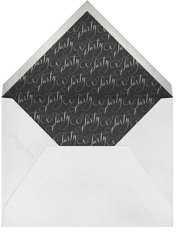 Let's Party Script - Red - Bernard Maisner - Adult birthday - envelope back