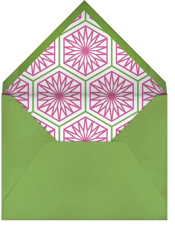 Golden Key - Green - Jonathan Adler - Housewarming - envelope back