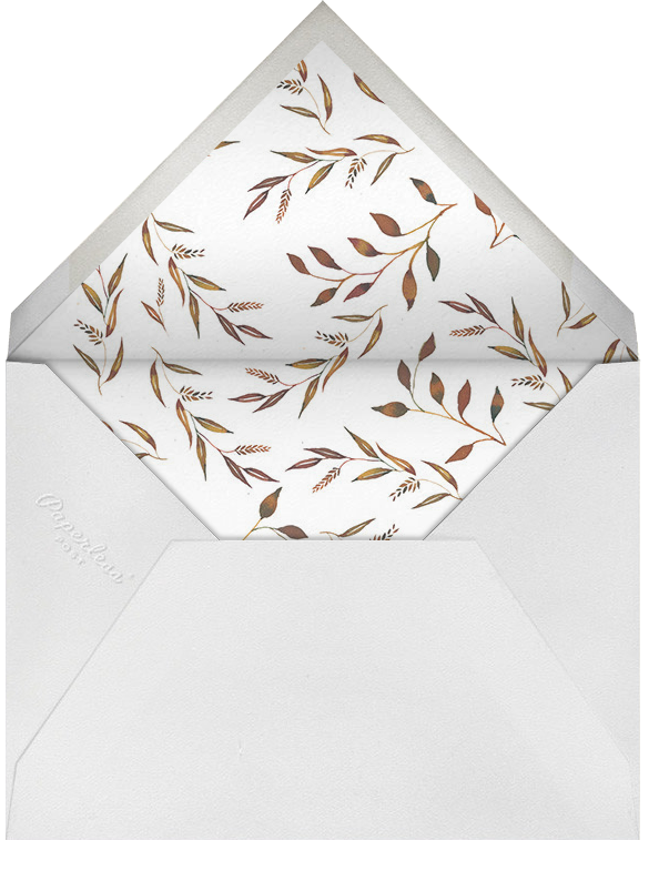 Wheaten - Happy Menocal - Wedding - envelope back