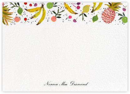 Tutti Frutti (Stationery) - Happy Menocal - Personalized Stationery