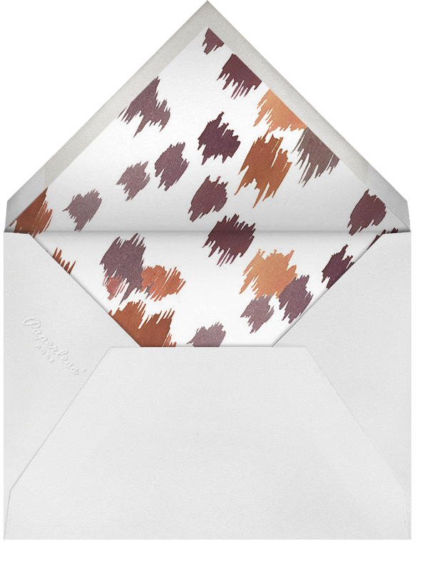 Mr. Charles - Happy Menocal - Personalized stationery - envelope back