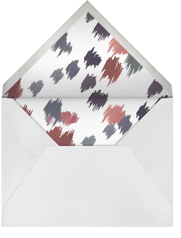 Mr. Sly - Happy Menocal - Personalized stationery - envelope back