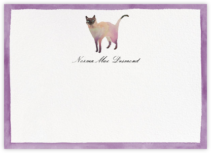 Mr. Socks - Happy Menocal - Personalized Stationery