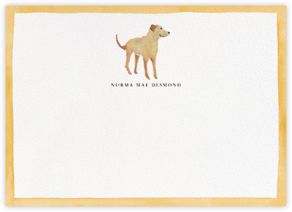 Mr. Tawny - Happy Menocal - Personalized Stationery