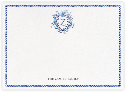 Orleans Family Crest - Z - Happy Menocal -