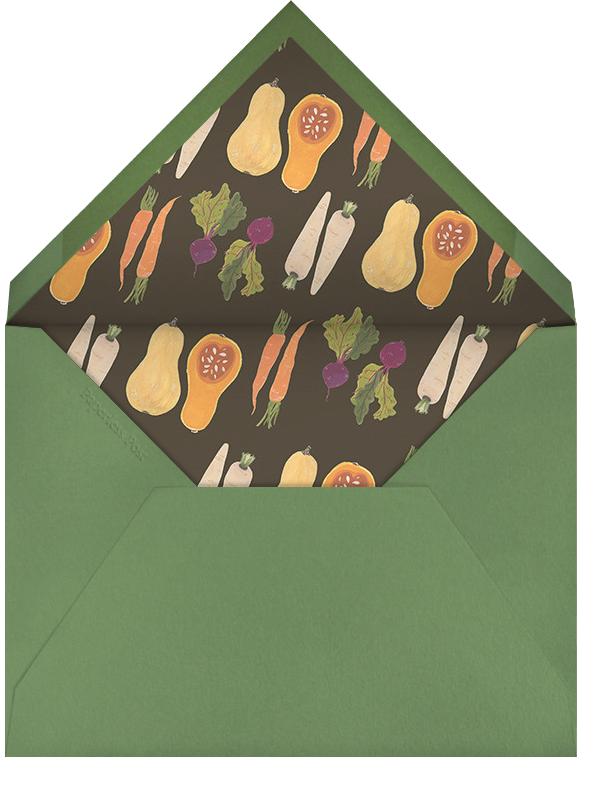 Market Table - Paperless Post - Thanksgiving - envelope back