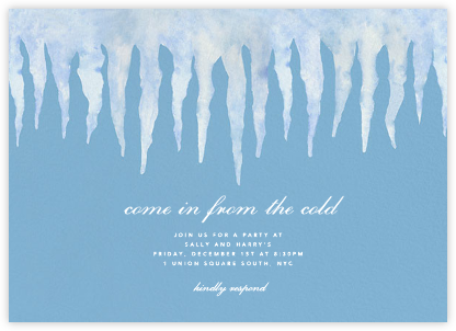 Icicle Eave - Paperless Post -