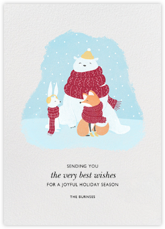 Winter Warm-Ups - Paperless Post - Holiday Cards