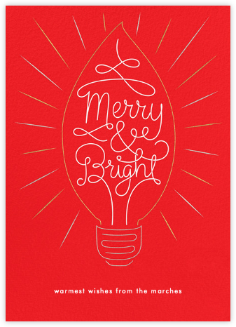 Brilliant Christmas - Paperless Post -