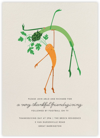 Waltz of the Vegetables - Paperless Post
