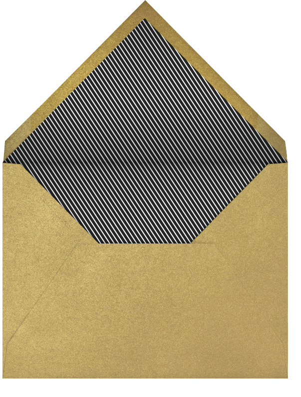Gimme Gimmel - Paperless Post - Hanukkah - envelope back