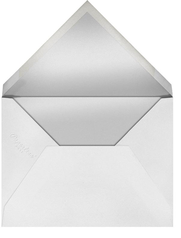 Harvest Bouquet - Tall - Paperless Post - Thanksgiving - envelope back