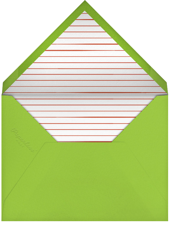 Twinkle Toes - Paperless Post - Holiday party - envelope back