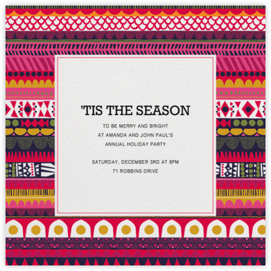 Raanu - Marimekko - Holiday invitations